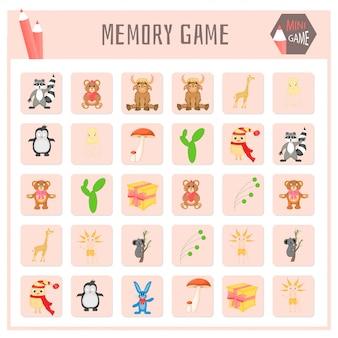 Memory-spiel für kinder