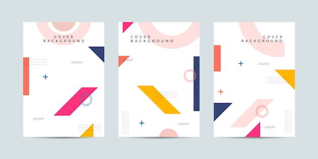 Memphis cover-design-kollektion