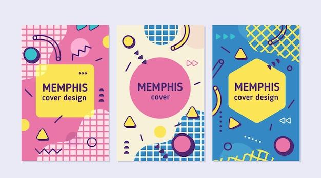 Memphis design cover kollektion