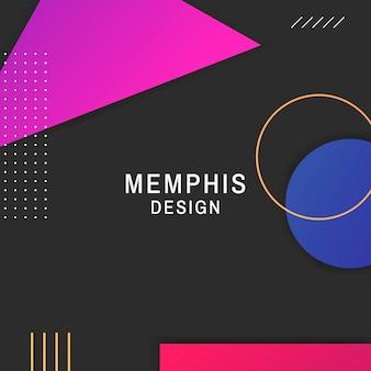 Memphis-hintergrund
