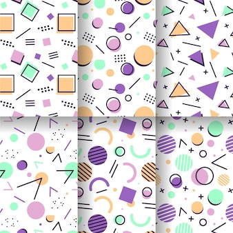Memphis pattern pack thema