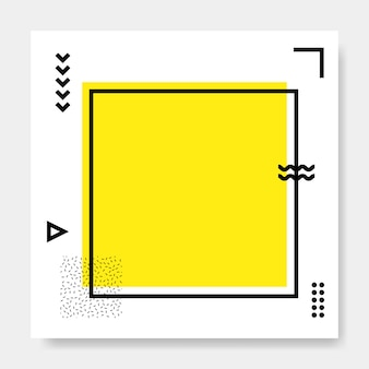 Memphis-quadratkarte