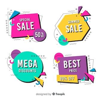 Memphis sale banner sammlung