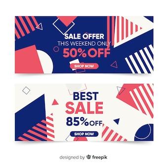 Memphis sales banner vorlagensammlung