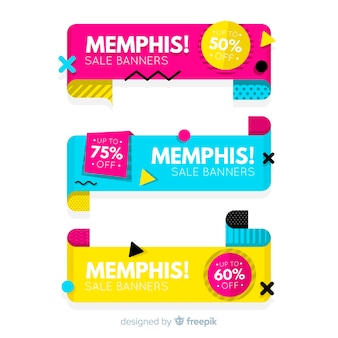 Memphis-verkauf-banner