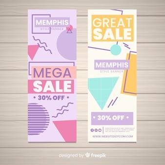 Memphis verkauf banner
