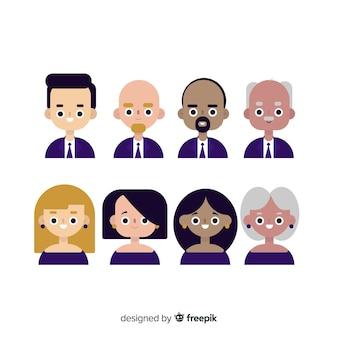 Menschen-avatar-sammlung