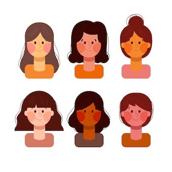 Menschen avatare sammlung