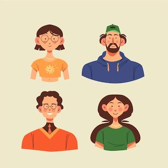 Menschen avatare