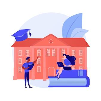 Menschen, die aus der ferne lernen, lernen. heimunterricht, fernunterricht, online-college