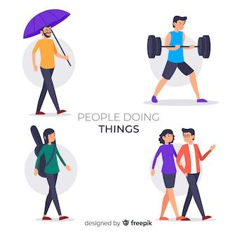 Menschen, die dinge sammeln