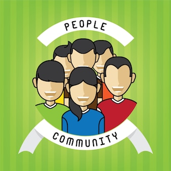 Menschen gemeinschaft