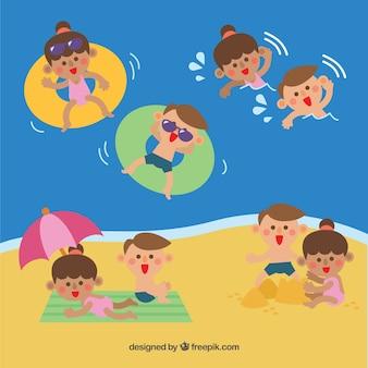 Menschen genießen open-air-freizeitaktivitäten