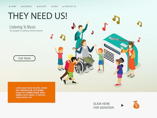 Menschen mit behinderungen in spezialisierten lernprogrammen