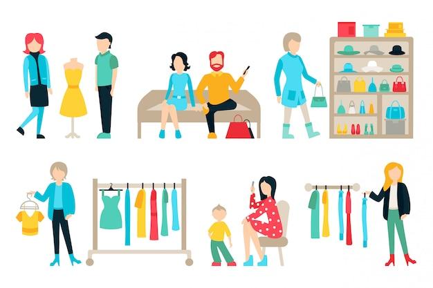 Menschen vector illustration