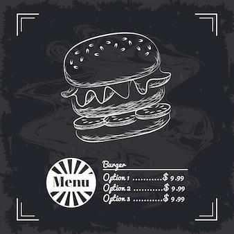 Menü fast food