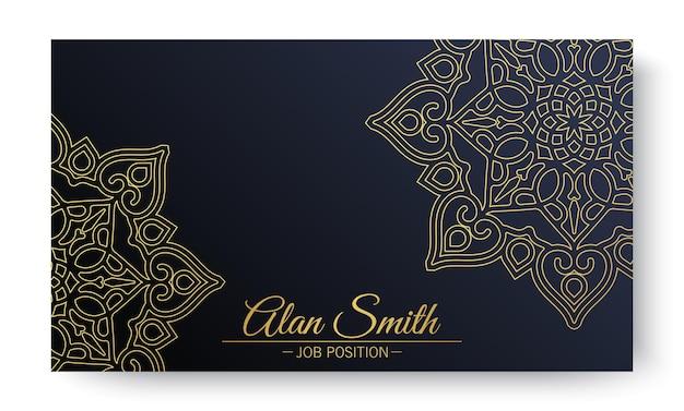 Menü-restaurant luxus-geschenkgutschein-design-vorlage