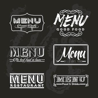 Menü restaurant