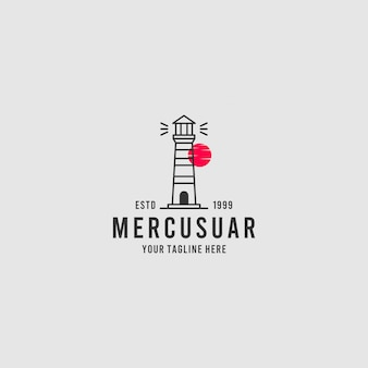 Mercurial minimalistisches professionelles logo-design