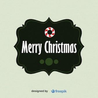 Merry christmas fußmatte