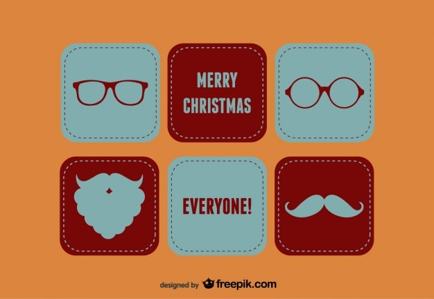 Merry christmas santa-set