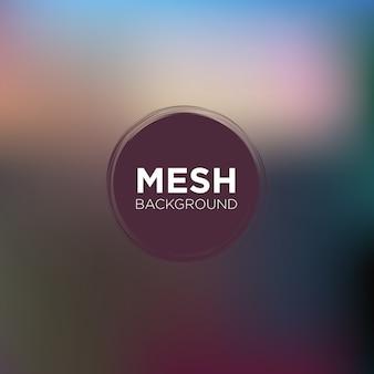 Mesh-hintergrund in palisander und blau töne