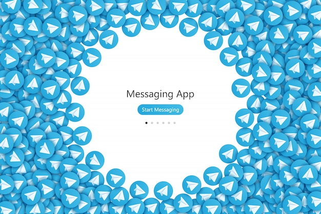 Messaging app ui ux design