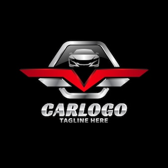 Metallic-abzeichen-automotive-vektor-logo-vorlage 02
