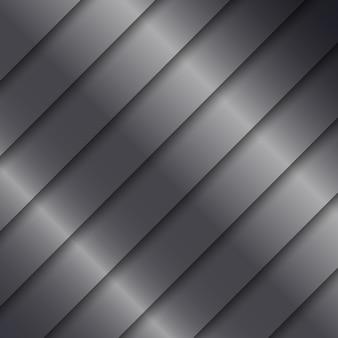 Metallic-hintergrund mit glänzenden silber-textur