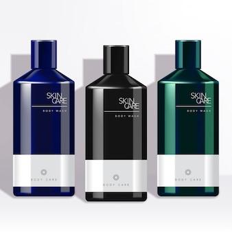 Metallische / glänzende luxus-herrenflasche