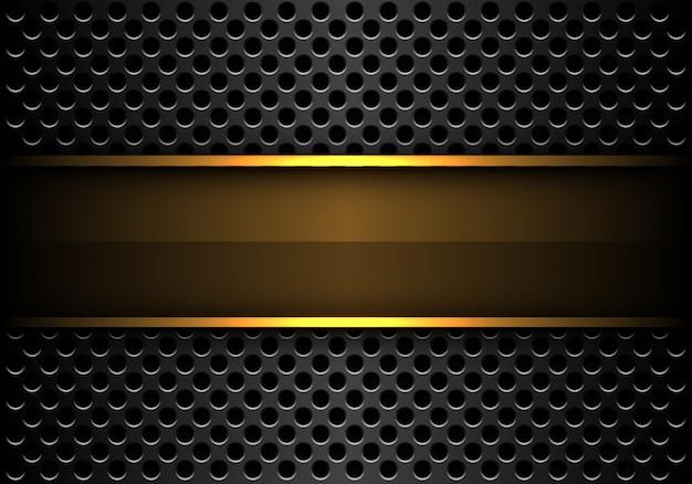 Metallischer hintergrund der grauen kreismasche.