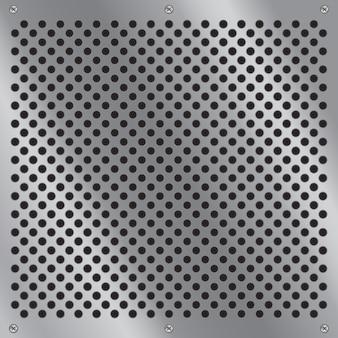 Metallmuster aluminium-design