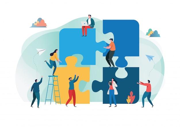 Metapher teamarbeit