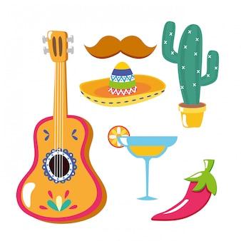 Mexikanische elemente
