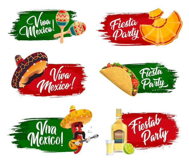 Mexikanische feiertagsikonen.