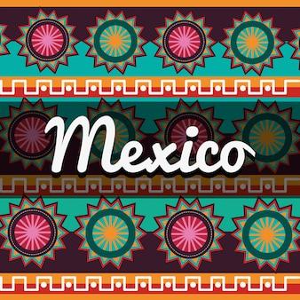 Mexikanische kultur design