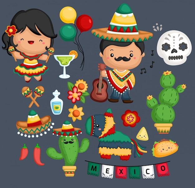 Mexikanische kultur und tradition