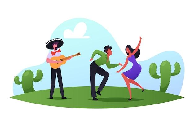 Mexikanische party, cinco de mayo festival