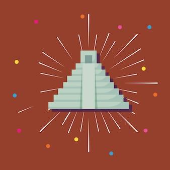 Mexikanische pyramide