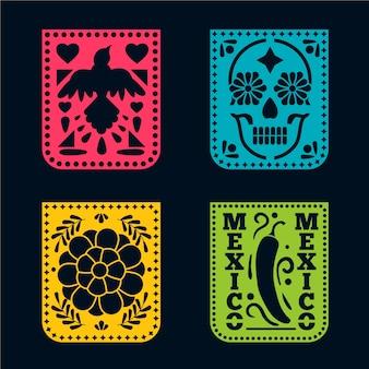 Mexikanisches ammer-set