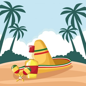 Mexikanisches essen und traditionelle kultur