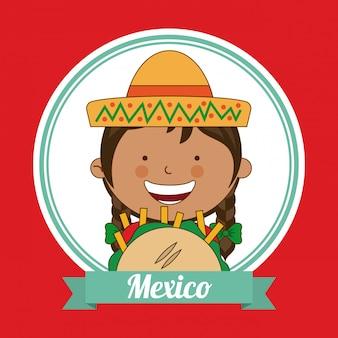 Mexikanisches kind