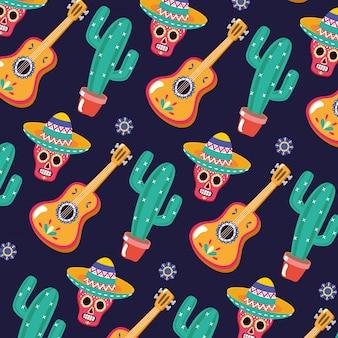 Mexikanisches muster