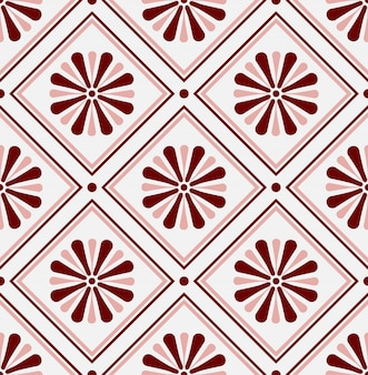 Mexikanisches talavera, keramikfliesenmuster, italain-tonwarendekor, nahtloses design des portugiesischen azulejo, bunte spanische majolikaverzierung