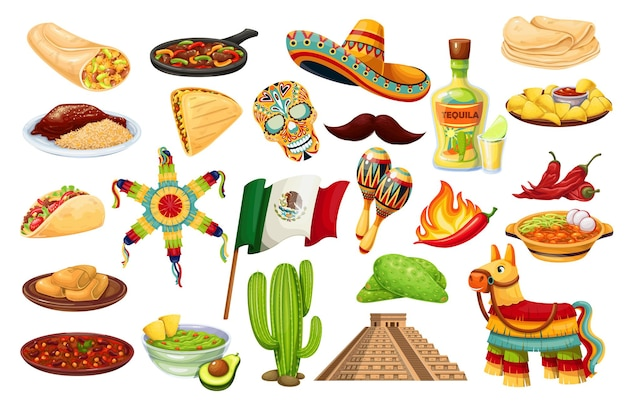 Mexiko ikonen karneval cinco de mayo