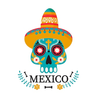 Mexiko-landillustration.