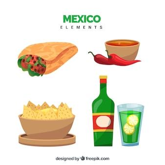 Mexiko-lebensmittelsammlung
