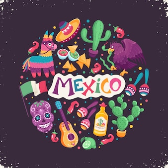 Mexiko-plakat