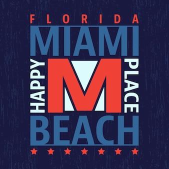 Miami vintage stempel