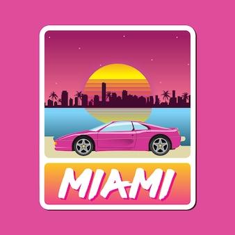 Miami-vizeabzeichen